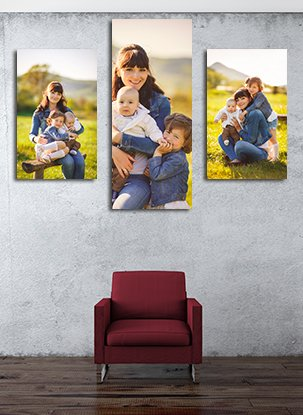 Canvas Print Sizes - Canvas Wall displays