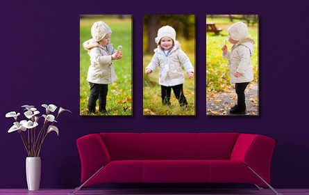 wall display canvas prints packages