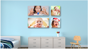 wall display canvas printing