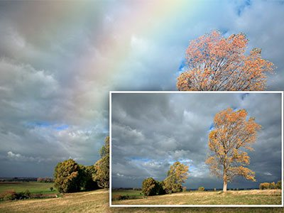 Add Realistic Rainbow To A Photo