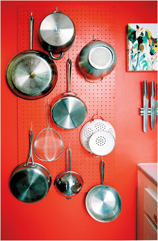 pegboards kitchen