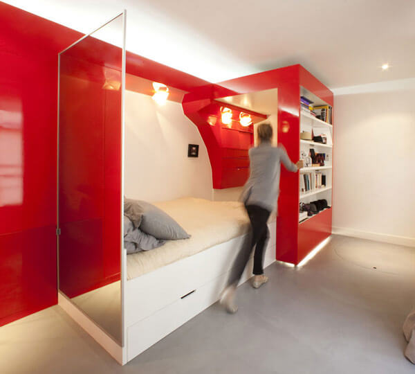 38 practical space saving interior design ideas for Smart bedroom design
