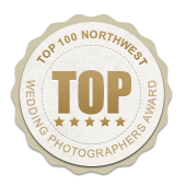 Top 100 Wedding Photographers Award Logo