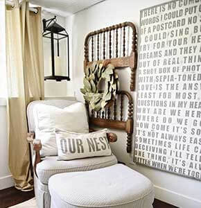 Bedpost Wall Decoration