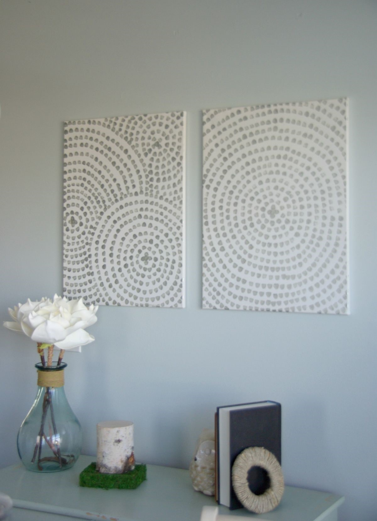 101 diy wall art ideas for your home the canvas prints for Make canvas wall art