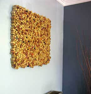 DIY Cork Art