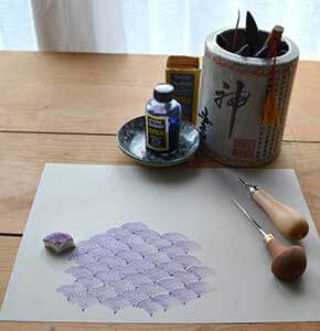 DIY Japanese Motif Stamp