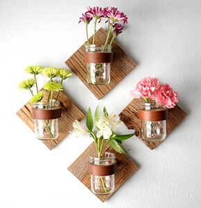 DIY Mason Jar Sconce