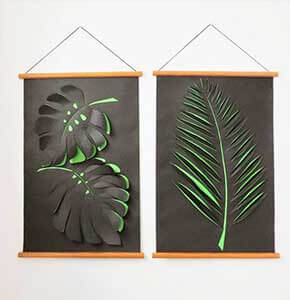 DIY Paper Wall Art
