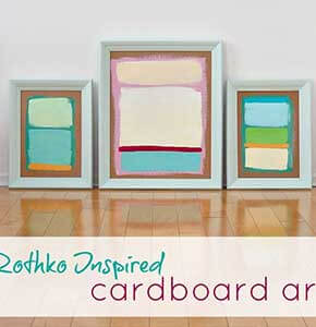 DIY Rothko Inspired Paintings