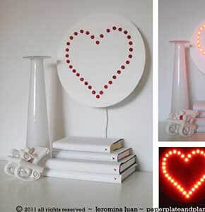 Heart Wall Lamp