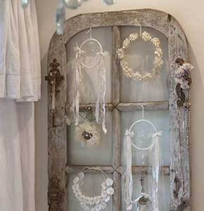 Salvaged Window Wall Decor