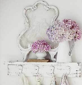 Shabby Chic Distressed Hanger