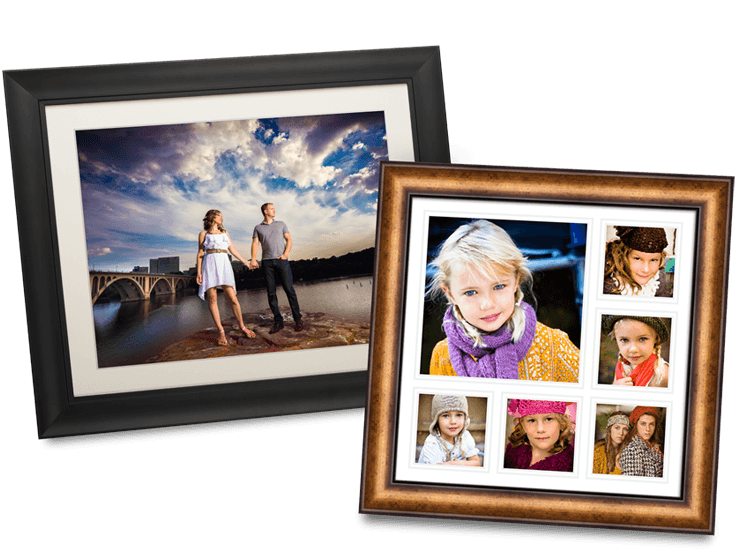 multiple pictures on frame